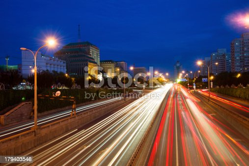 istock traffic city night 179403546