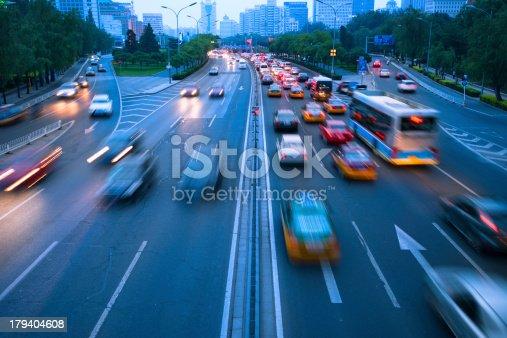 istock traffic city night 179404608