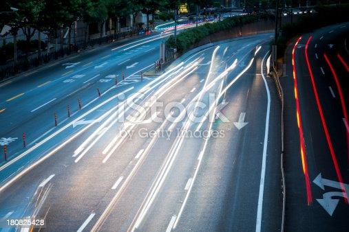 istock traffic city night 180825428