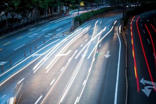 175130389 istock photo traffic city night 180825428