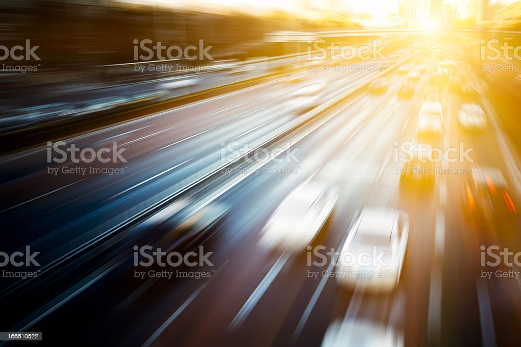 traffic city stock photo