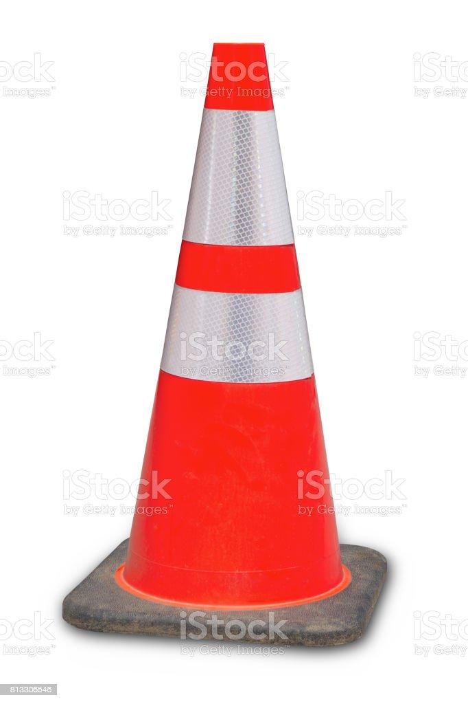 cone de trânsito sob erro de construção web site 404 laranja - foto de acervo