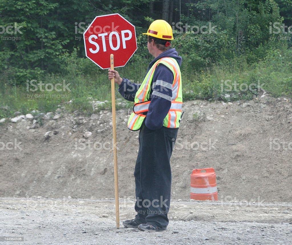 Traffic Controller stock photo