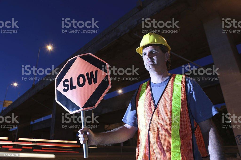 traffic directing stock photo
