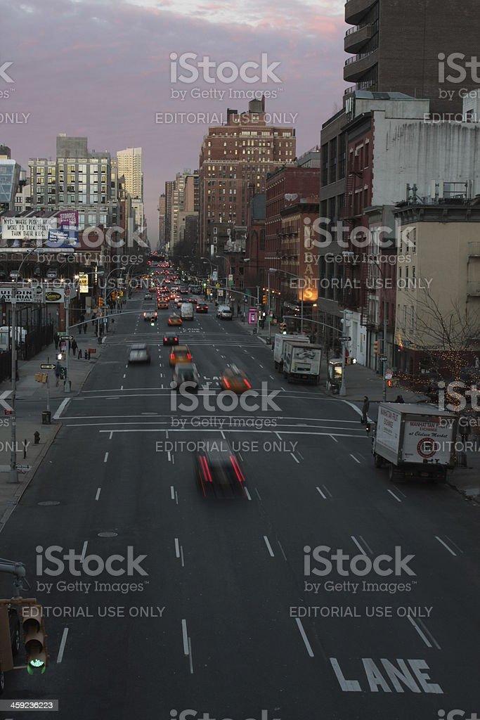 Traffic Flow royalty-free stock photo