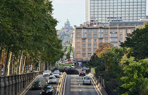 Verkehr in Brüssel, Belgien – Foto