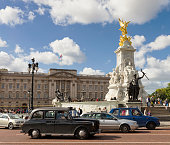 istock Traffic in front of Buckingham Palace, London 458244781