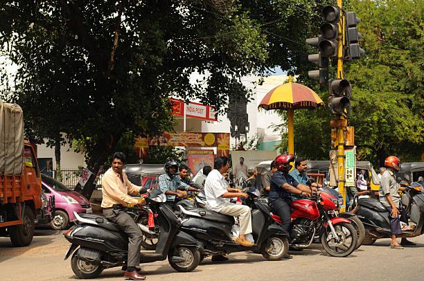Verkehr in Indien – Foto