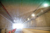 istock Traffic in the intersection tunnel 1269904165