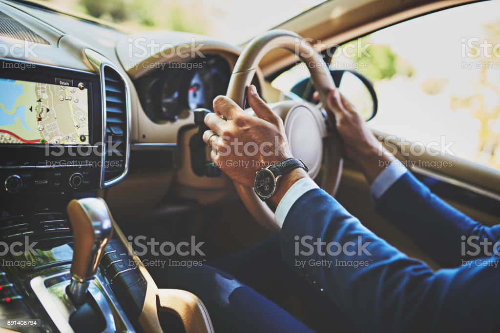 Traffic is a pain today stock photo