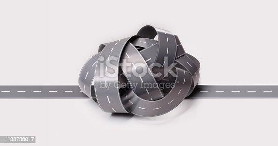 istock Traffic Jam Concept 1138738017