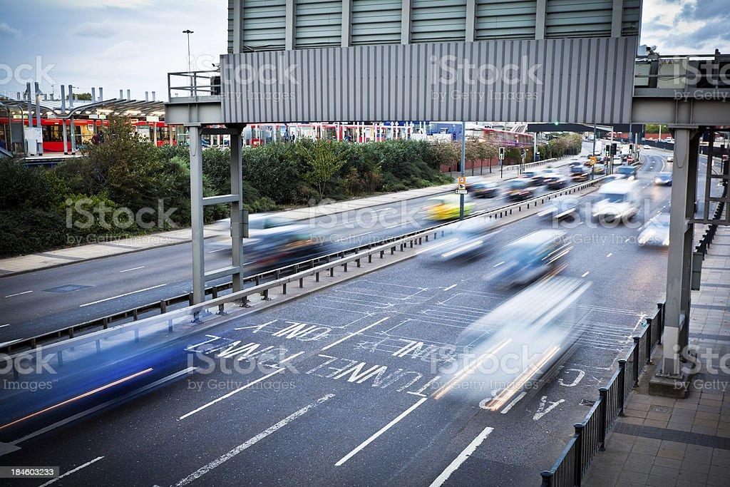 Traffic Jam in London royalty-free stock photo