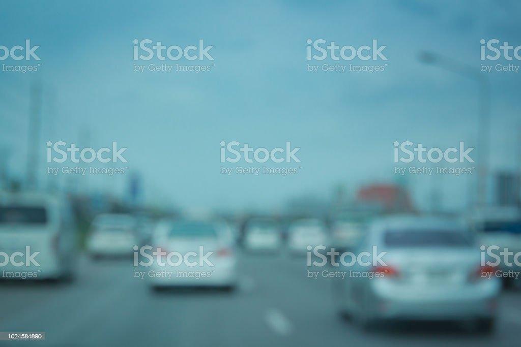 Traffic jam in the rush hour, Thailand.Traffic jam in the rush hour,...