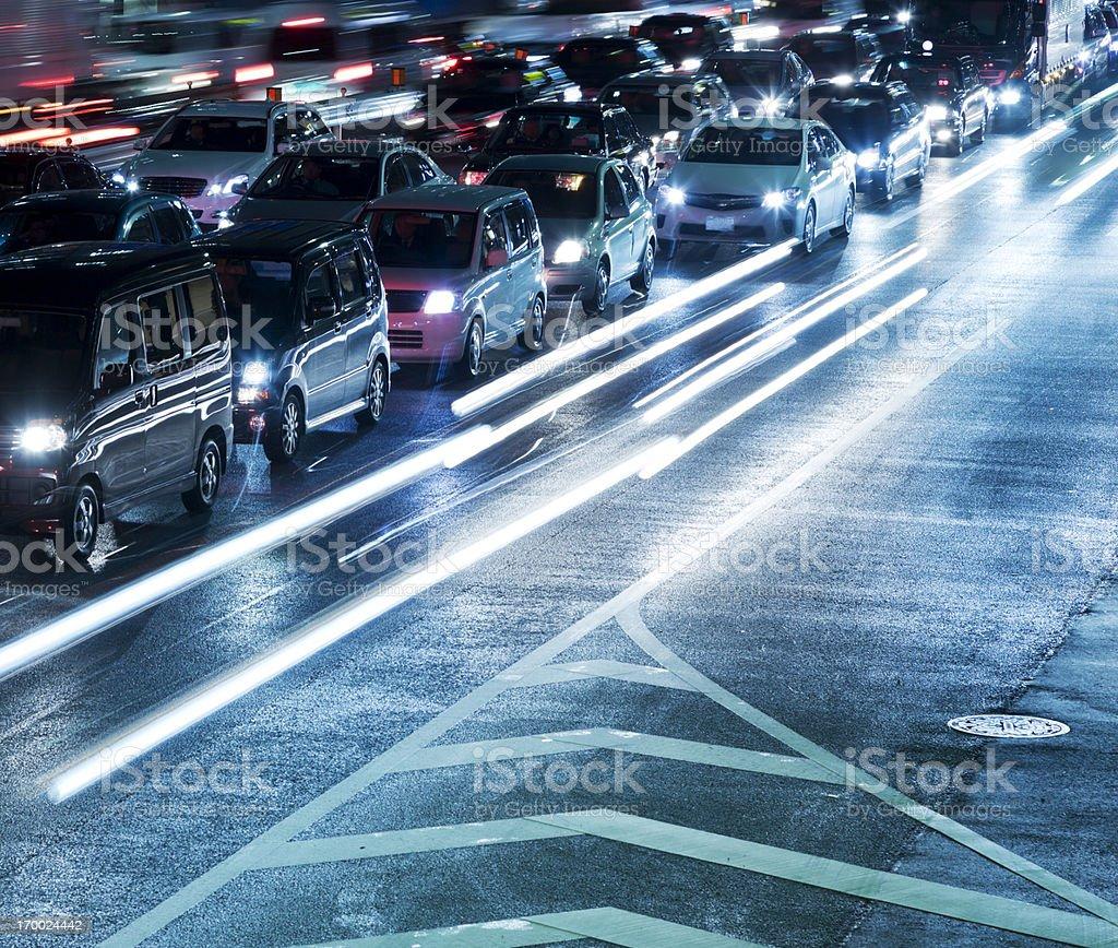 Traffic Jam royalty-free stock photo