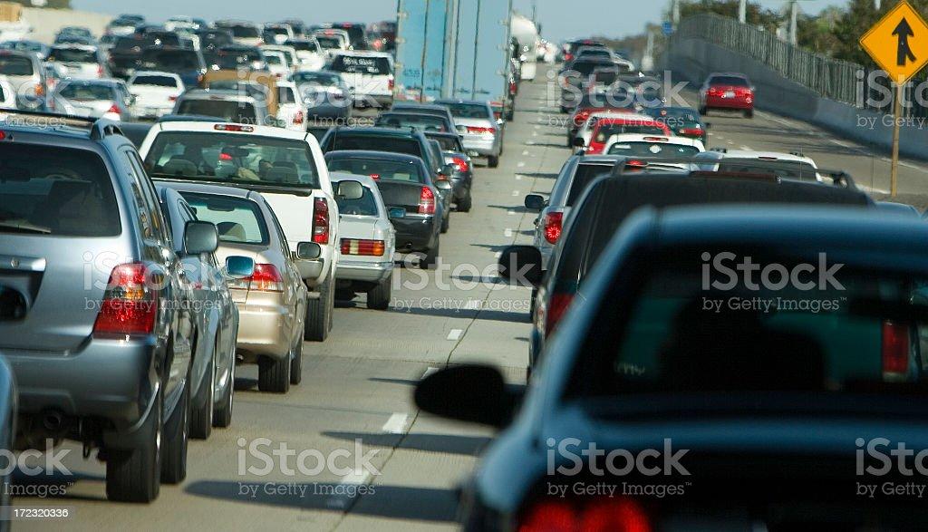 traffic jam (#2 of series) royalty-free stock photo