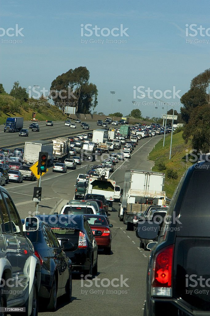 traffic jam (#33 of series) royalty-free stock photo