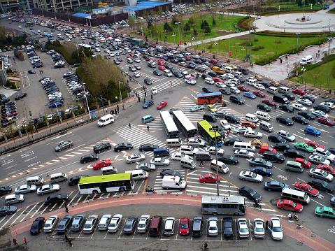 Traffic Jam Stock Photo - Download Image Now