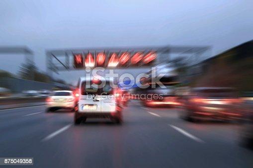 144334852istockphoto Traffic jams on the motorway 875049358