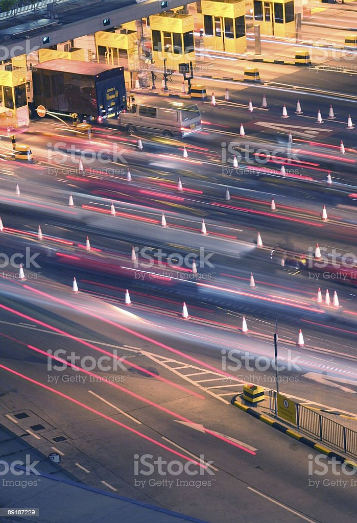 Traffic Jams royalty-free stock photo