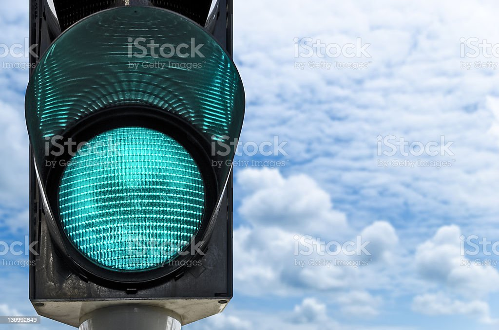 traffic lamp stock photo