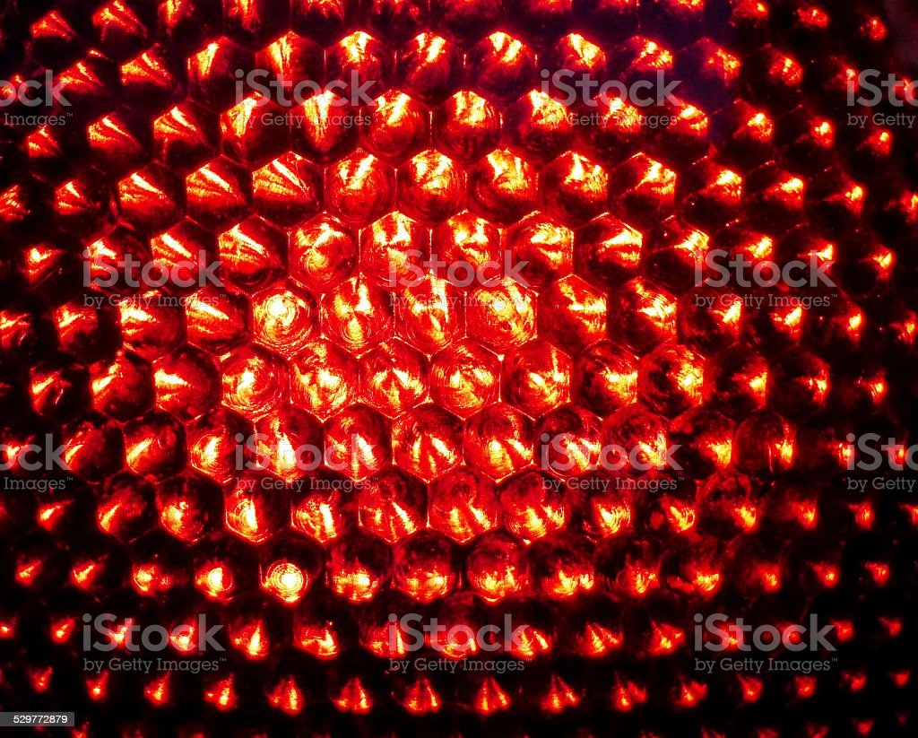 Traffic light in red stock photo
