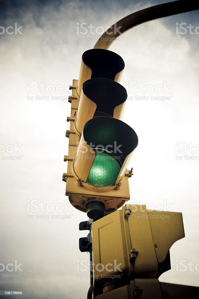 Traffic Light (Green) royalty-free stock photo