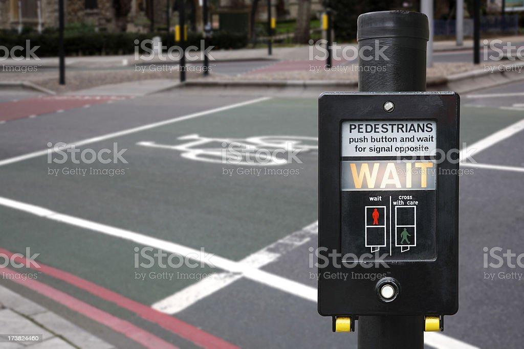 Traffic light stock photo