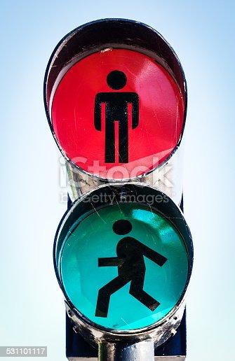 traffic light at madeira - portugal