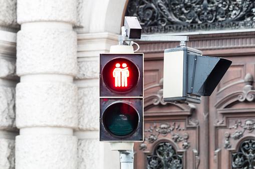 Traffic light Vienna for more tolerance