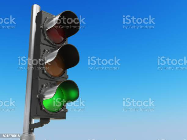 Traffic light with green color on blue sky background picture id801278918?b=1&k=6&m=801278918&s=612x612&h=lkod0zj1 nxg1dltijhbb833gcpdrnpdwgyb6awxauw=