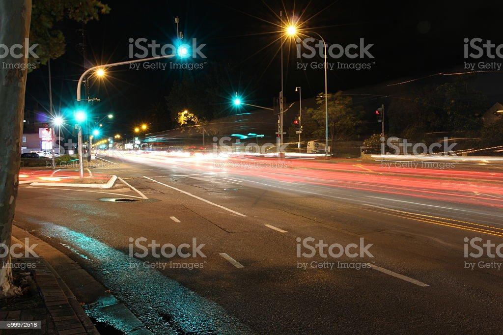 Traffic Lights @ Adelaide stock photo