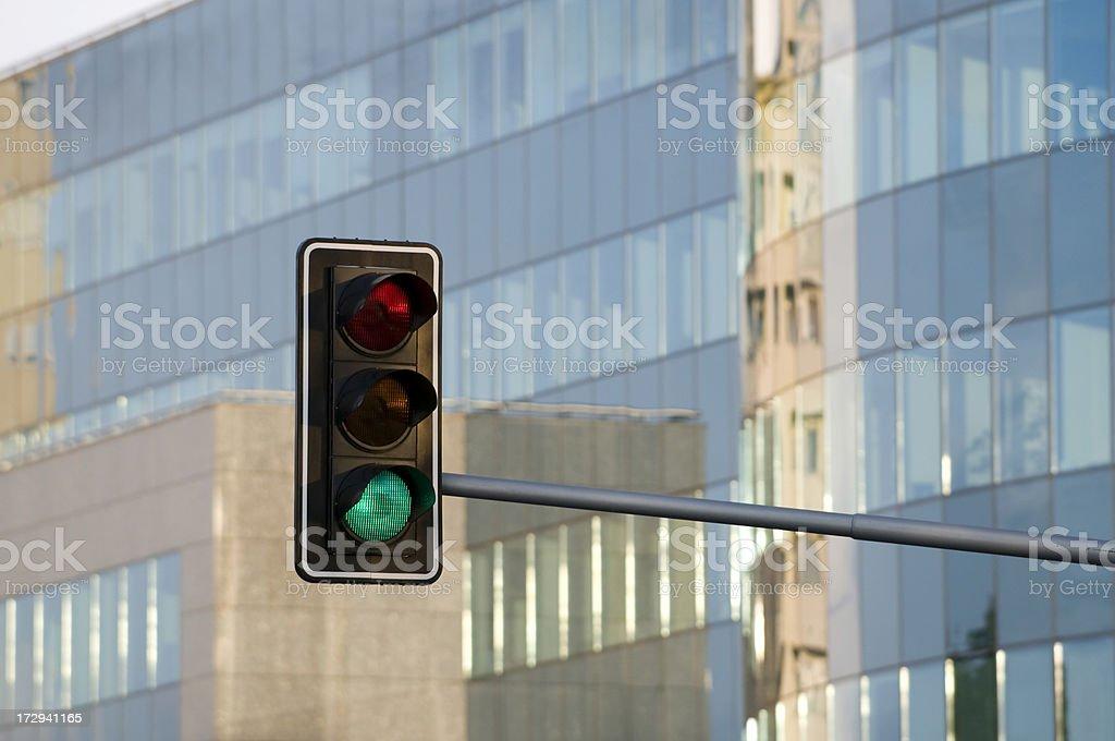 Traffic lights royalty-free stock photo