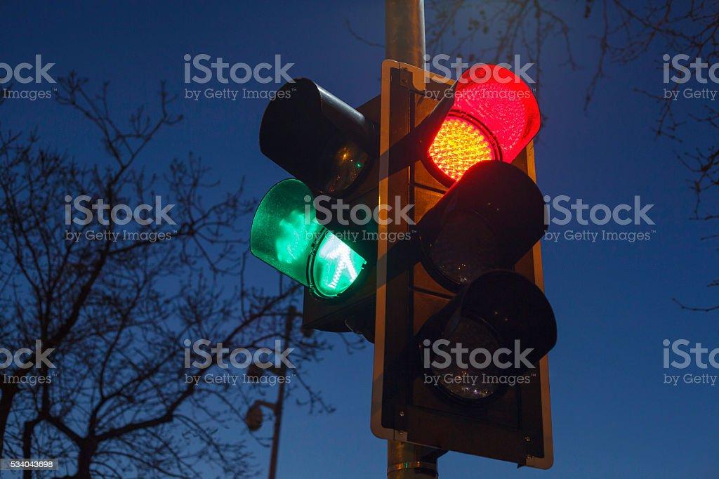 Semáforo - foto de stock