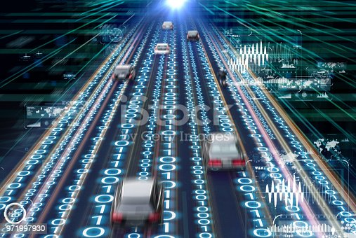 829191978 istock photo Traffic management system concept. Digital transforamtion. 971997930