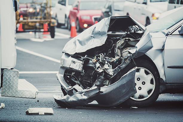 traffic mishap - car accident stock photos and pictures