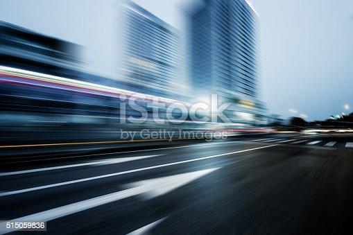515009182 istock photo traffic night of city 515059836