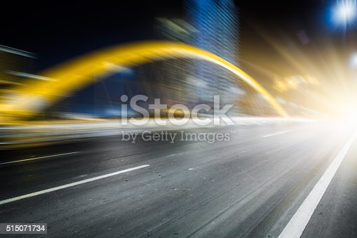 515009182 istock photo traffic night of city 515071734
