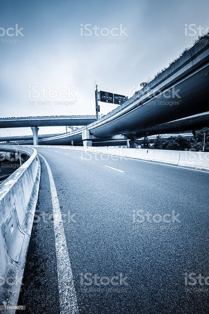 traffic of city royalty-free stock photo