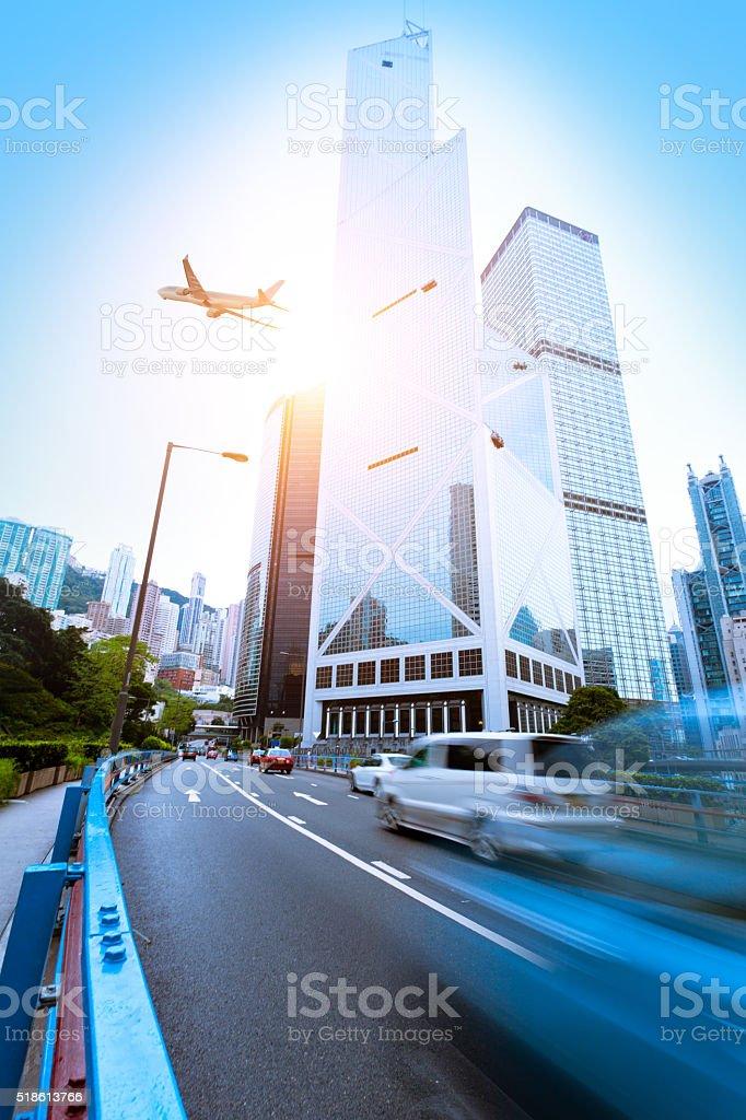 Verkehr in Hong Kong – Foto