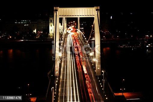 599471112istockphoto Traffic on the Elisabeth Bridge at night. 1133861476