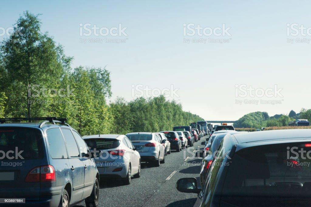 Verkehr auf der Autobahn in Irland – Foto