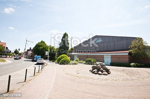 1045032684 istock photo Traffic Outside A German High School Building (Rupert-Neudeck-Gymnasium) Nottuln – Germany 1041727328