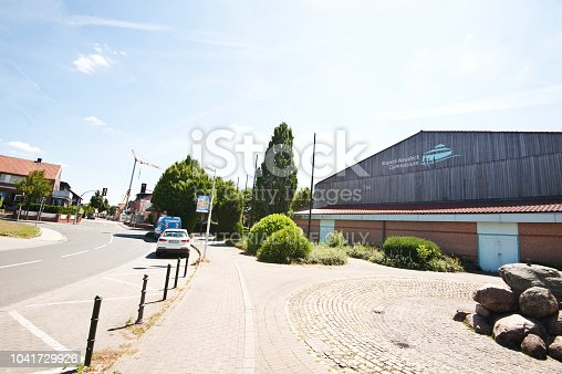 1045032684 istock photo Traffic Outside A German High School Building (Rupert-Neudeck-Gymnasium) Nottuln – Germany 1041729926