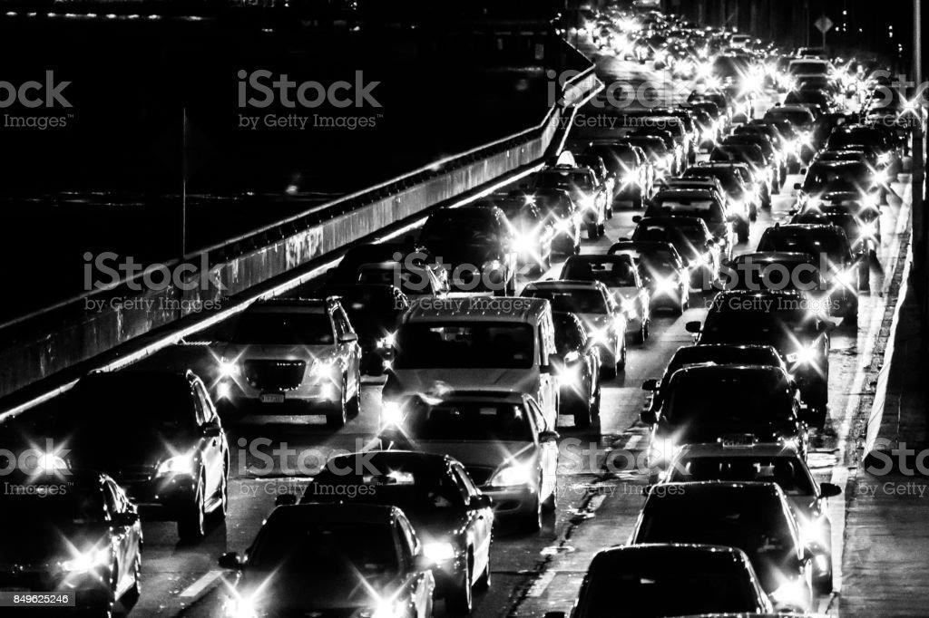 NYC Traffic stock photo