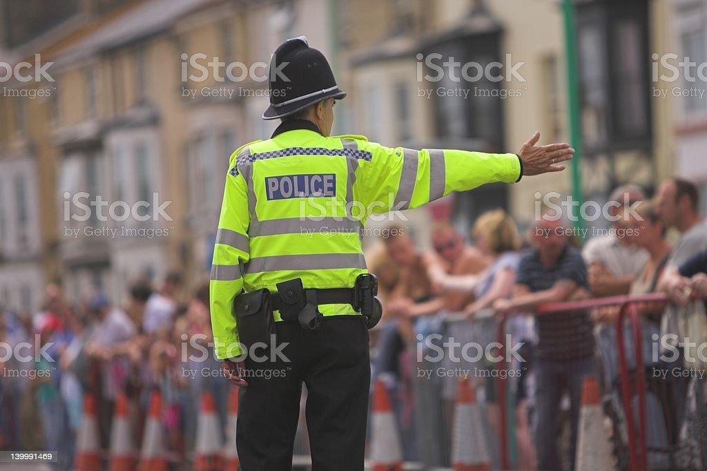Traffic Police Man stock photo