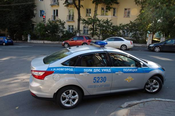 traffic police - ford focus stock photos and pictures