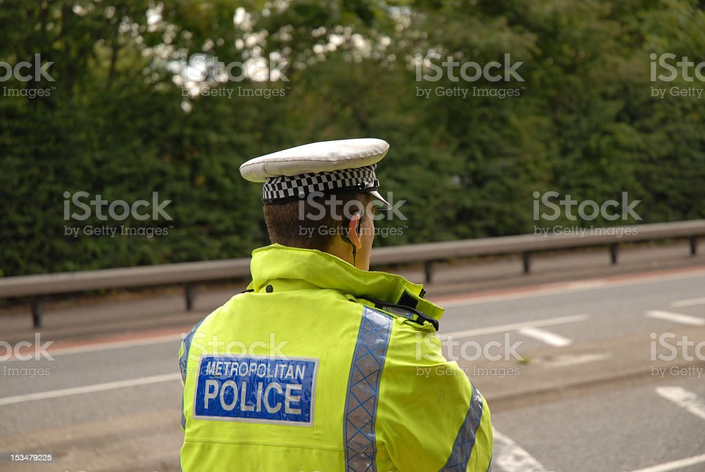 Traffic Policeman stock photo