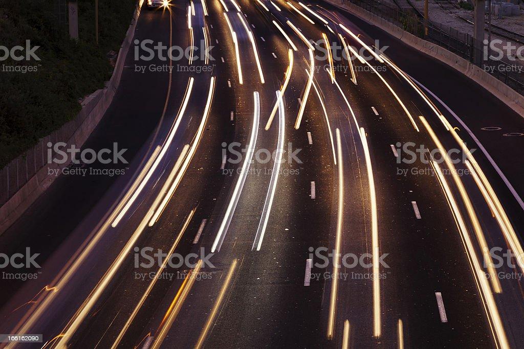 Traffic River royalty-free stock photo