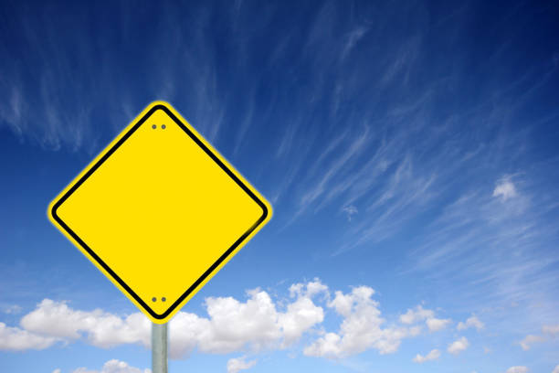 traffic sign is empty - road signs stock photos and pictures