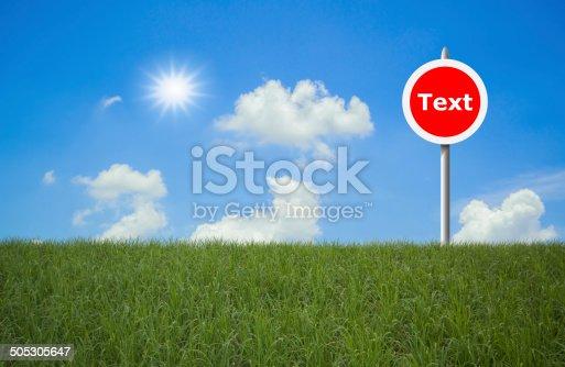 istock traffic sign 505305647